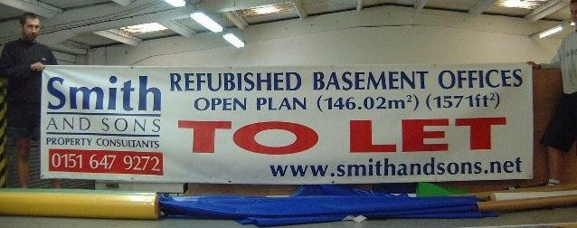 Printed Sign Banner