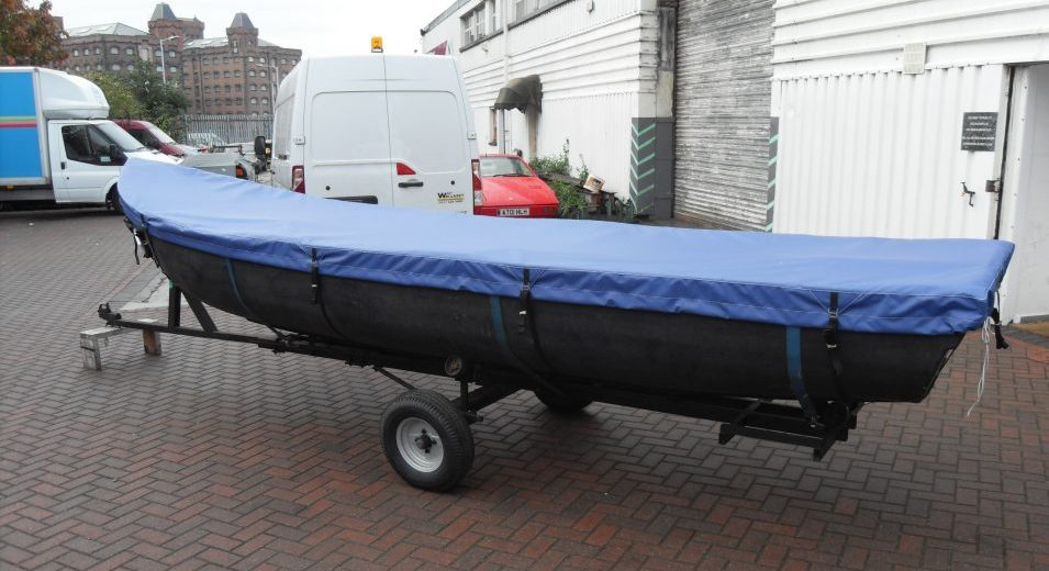 Custom PVC Boat Cover